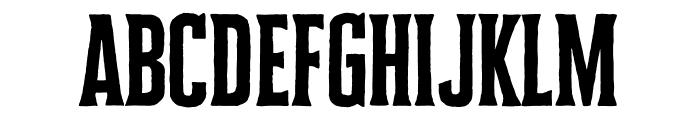 Cheddar Gothic Serif Regular Font LOWERCASE