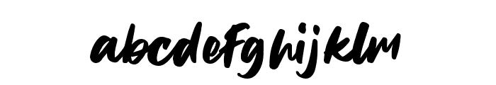 CheeseLemonade-Regular Font LOWERCASE