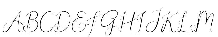 Christopher Lynn Font UPPERCASE