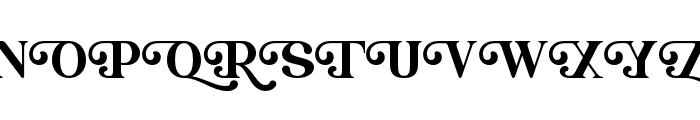Christopherwells Font UPPERCASE