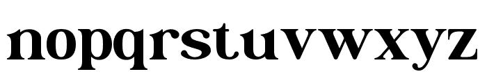 Christopherwells Font LOWERCASE