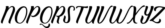Clarkson Script Bold Font UPPERCASE