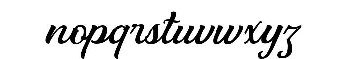 Clarkson Script Bold Font LOWERCASE