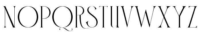 Claude Regular Font UPPERCASE