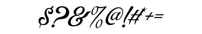 ControwellScript-Regular Font OTHER CHARS