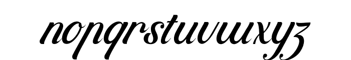 ControwellScript-Regular Font LOWERCASE
