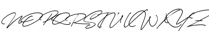 Cynthia Blooms Regular Font UPPERCASE