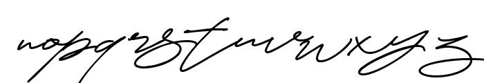 Cynthia Blooms Regular Font LOWERCASE
