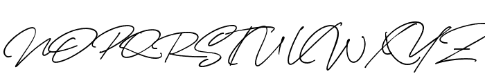 CynthiaBlooms-Regular Font UPPERCASE