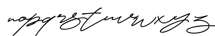 CynthiaBlooms-Regular Font LOWERCASE