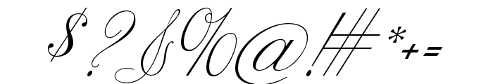 CynthiaJuneJF Regular Font OTHER CHARS