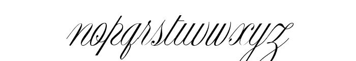 CynthiaJuneJF Regular Font LOWERCASE