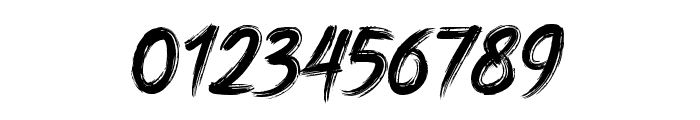 DHFHarry'sBrush Font OTHER CHARS