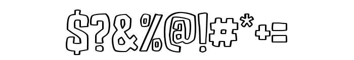 DJADOELoutline Font OTHER CHARS