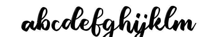 DanielScript Font LOWERCASE