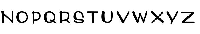 Denali Font UPPERCASE