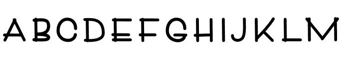 Denali Font LOWERCASE