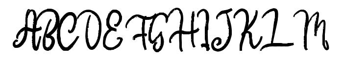 Donkeymonk Font UPPERCASE