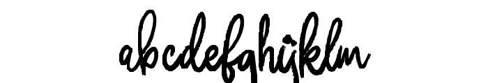 Donkeymonk Font LOWERCASE