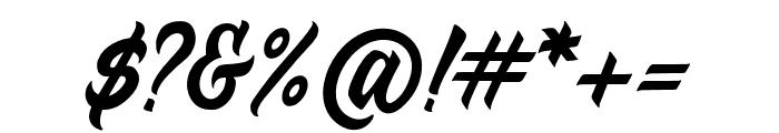 Duca-Regular Font OTHER CHARS