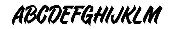 Duca-Regular Font UPPERCASE