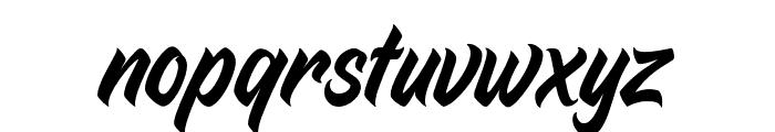 Duca-Regular Font LOWERCASE