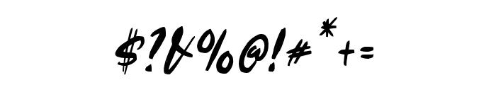 Edigtor Regular Font OTHER CHARS