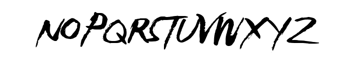 Electro Soul Font UPPERCASE