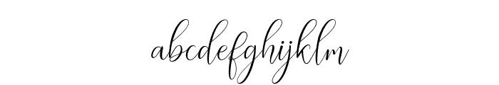 ErittaSlant Font LOWERCASE