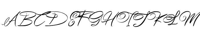 Esmetralda Font UPPERCASE