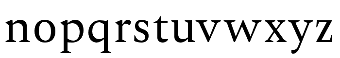 Ethan-Regular Font LOWERCASE