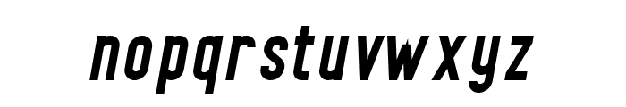Finland Bold Italic Font LOWERCASE