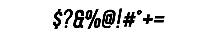 Finland-BoldItalic Font OTHER CHARS