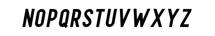 Finland-BoldItalic Font UPPERCASE