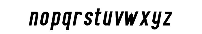 Finland-BoldItalic Font LOWERCASE