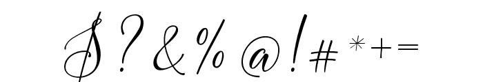 FlashScript Font OTHER CHARS