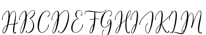 FlashScript Font UPPERCASE