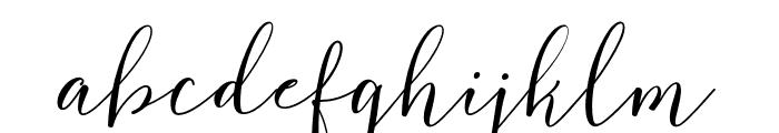FlashScript Font LOWERCASE