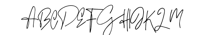 Flavor Ridge Font UPPERCASE