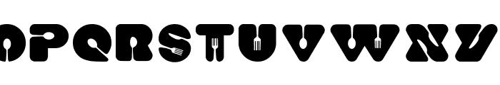 Food Craft Regular Font UPPERCASE