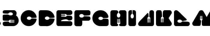 Food Craft Regular Font LOWERCASE