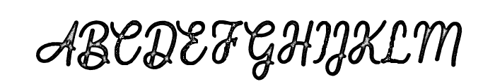 FountaineRough Font UPPERCASE