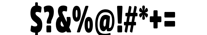 Fritz Regular Font OTHER CHARS