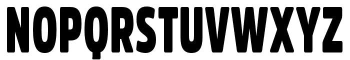 Fritz Regular Font UPPERCASE