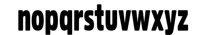 Fritz Regular Font LOWERCASE