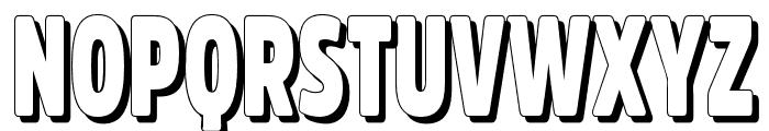 Fritz Retro Font UPPERCASE