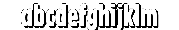 Fritz Retro Font LOWERCASE