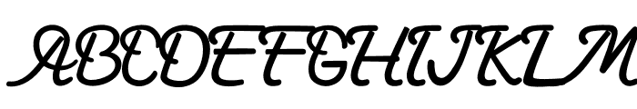 Gardarena Font UPPERCASE