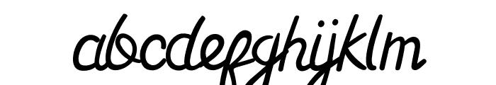Gardarena Font LOWERCASE