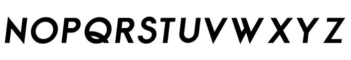 George Bold Italic Font UPPERCASE